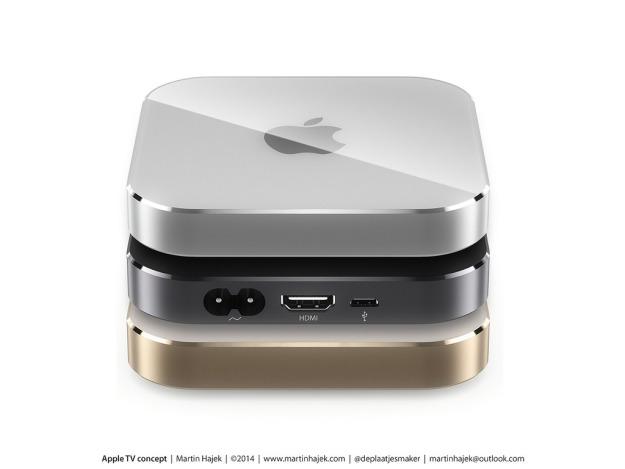 Apple TV 4 поколения