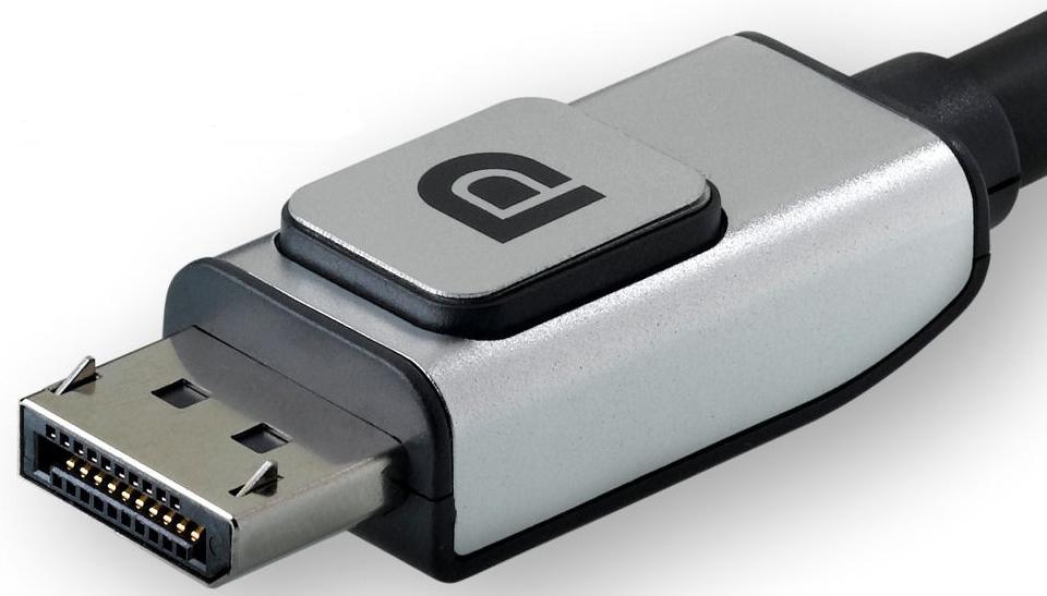 DisplayPort с фиксацией