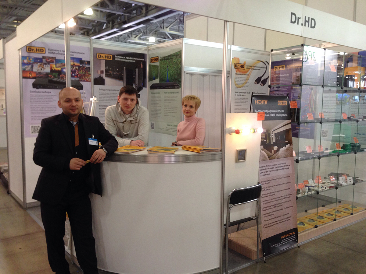 Стенд Dr.HD на выставке Consumer Electronics & Photo Expo 2014